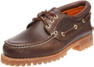Timberland Mens Authentics 3 Eye Classic Lug Boat Shoe Shoes