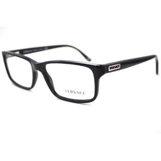 a9c01745818 ... Authentic New Versace EyeGlass Frames Black Silver MOD 1120 1009  versace  eyeglasses men Clothing   Accessories ...