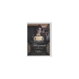 #/500 (Trading Card) 2011 Michael Jackson Gold #127 Everything Else
