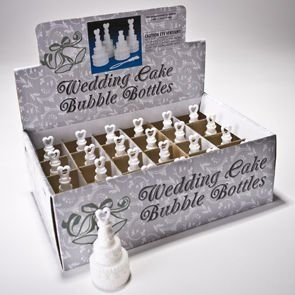 Wedding Cake Bubble Bottles Toys & Games