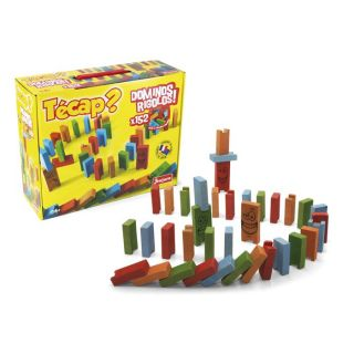 Técap ? Dominos Rigolos   152 pièces : jeu de parcours avec 152