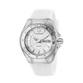 TechnoMarine Womens White Cruise Watch
