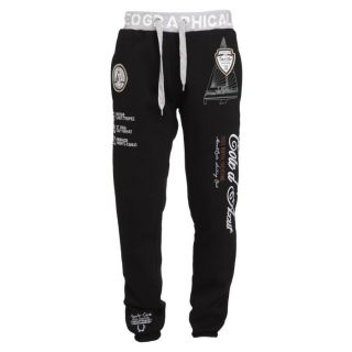 GEOGRAPHICAL NORWAY Pantalon de Jogging Homme Noir   Achat / Vente