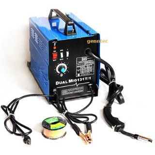 Flux Wire Welder Mig 131 Gas/ No Gas Welding Machine New