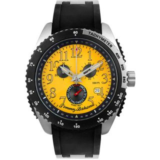 Tommy Bahama Mens Chronograph Alarm Watch