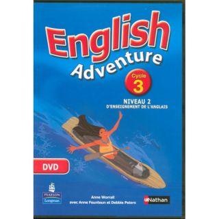 ENGLISH ADVENTURE; CYCLE 3 ; NIVEAU 2 ; DVD   Achat / Vente livre