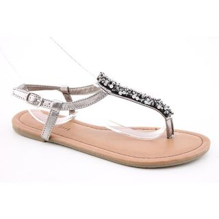 Madden Girl Womens Mikahh Silver Sandals