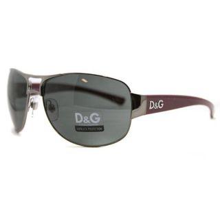Dolce & Gabbana Womens DG 6056 423 87 Aviator Sunglasses