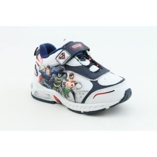 Justice League Toddlers Global Defenders Lighted Sneaker White Casual