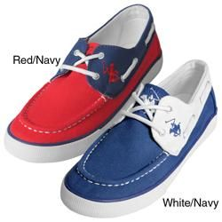 Beverly Hills Polo Womens Nearside Boat Shoes