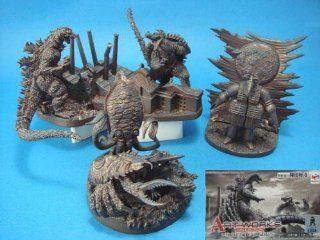 Toho Godzilla Art Works Collection Feat. Yuji Kaida Toys