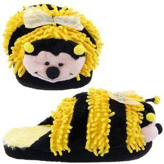 Ladies Girls Women Cute Bumble Bee Yellow Slippers item# kk2328 Shoes