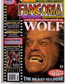 FANGORIA MAGAZINE #131 (Apr 1994)(JACK NICHOLSONS WOLF COVER)(#1