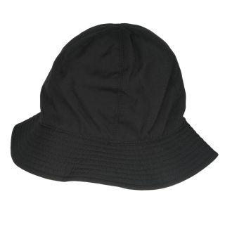 Burberry Cotton Reversible Black Bucket Hat
