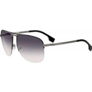 Sunglasses   Shiny Black/Dark Gray Gradient / Size 58/14 135 Clothing