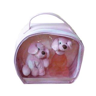 Baby Gund Pink Puppet Mens Alcohol free Cologne 3 piece Gift Set