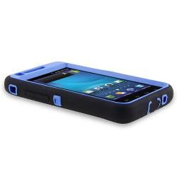 Blue/ Black Hybrid Case for Samsung Galaxy S II AT&T i777 Attain