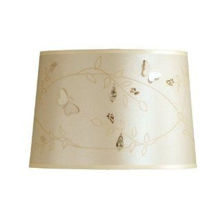 Laura Ashley Lighting SLD132 Belle Lamp Shade, Cream