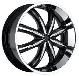 VooDoo 415 Black Wheel (22x8.5/6x132mm)    Automotive