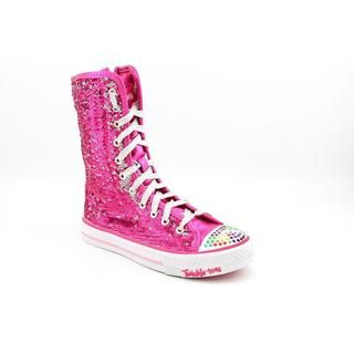 Twinkle Toes By Skechers Girls Shuffles Bizzy Bunch Synthetic