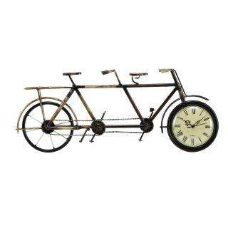 Casa Cortes Tandem Bicycle Accent Clock Today $39.49 4.0 (1 reviews