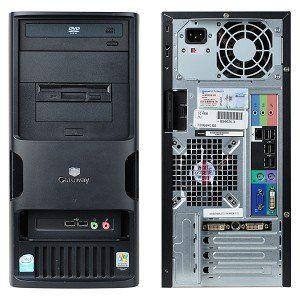 Gateway E 4610 Tower Computer Desktop Windows 7 / Core 2