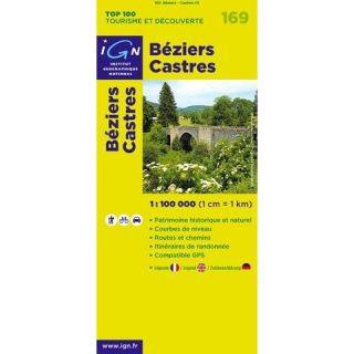 BEZIERS ; CASTRES ; 169   Achat / Vente livre Ign pas cher