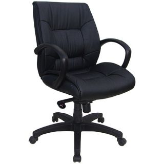Ergomax Contemporary Leather Executive Chair