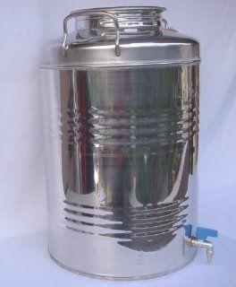 Stainless steel 18/10 drum   50 lt.