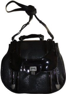 Womens Jessica Simpson Purse Handbag Metro Black Shoes