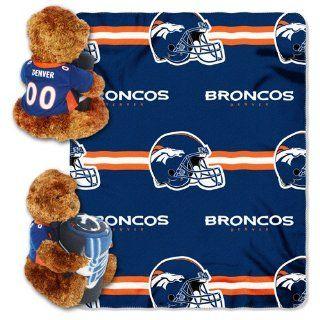Northwest Denver Broncos 40 inch x 50 inch Fleece Blanket