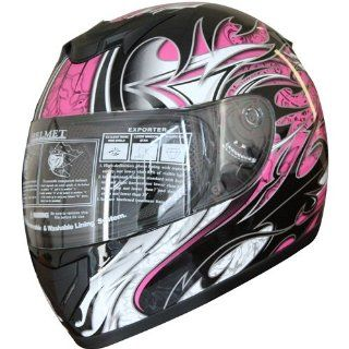 Face Sports Motorcycle Helmet DOT (509) 136 Pink