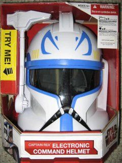 Star Wars Clone Wars Captain Rex Helmet Toys & Games