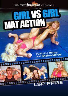Womens Wrestling DVD   Girl vs. Girl Mat Action   LSP