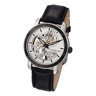 Stuhrling Original Mens Automatic Skeleton Watch