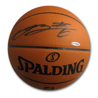 Lebron James Autographed Official Game Basketball