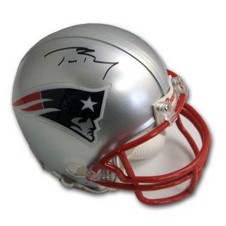 Tom Brady New England Patriots Autographed Mini Helmet