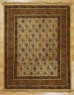 Indian Hand woven Royal Area Rug (5 x 8)
