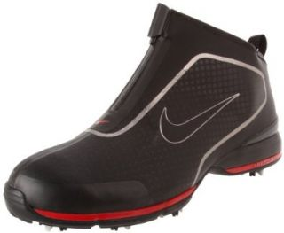 Golf Mens Nike Zoom Bandon Golf Shoe,Black/Varsity Red,10 W US Shoes