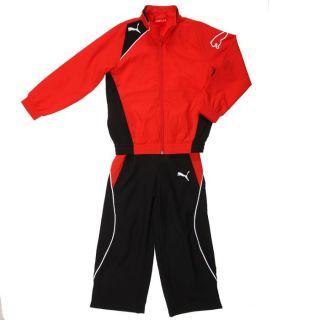 PUMA Survêtement Enfant Rouge, noir et blanc   Achat / Vente