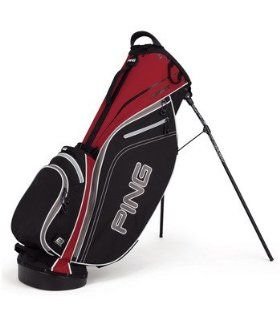 Ping 2012 4 Series Golf Stand Bag (Black/Inferno) Sports