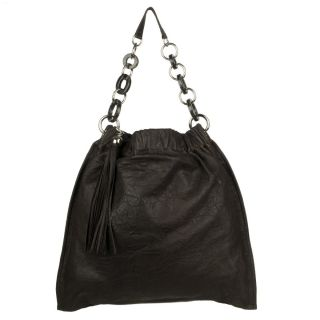 Nicole Lee Fifi Faux fur Hobo Bag with Faux leather Accents Today $41
