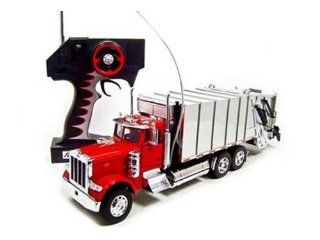 Remote Control Peterbilt 379 Garbage Dump Truck Rc Car