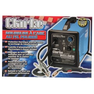 Clarke WE6527 160EN Fluxcore/MIG Wire Welder