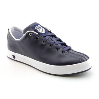 Swiss Mens Clean Classic Leather Casual Shoes