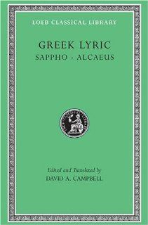 Greek Lyric Sappho and Alcaeus (Loeb Classical Library No. 142