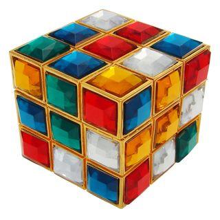 Objet dart Rubiks Jewels Rubiks Cube Trinket Box