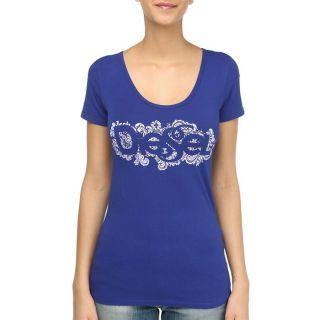 DIESEL T Shirt Ally Femme Bleu royal   Achat / Vente T SHIRT DIESEL T