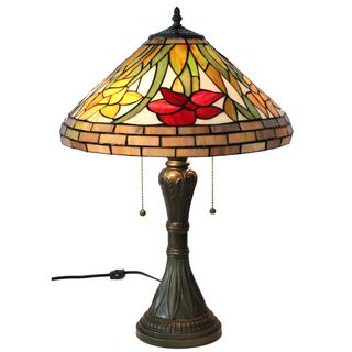 Tiffany style Amora Lighting Daffodil Table Lamp