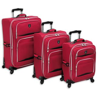 Adolfo Valencia 360 Wheeled 3 piece Luggage Set